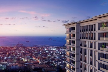 Luxury Project in the Zeytinburnu with a Wonderful Sea View