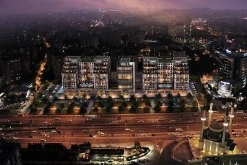 مشروع  في منطقة بيليك دوزو الواقعة في الشق الأوروبي من مدينة اسطنبول