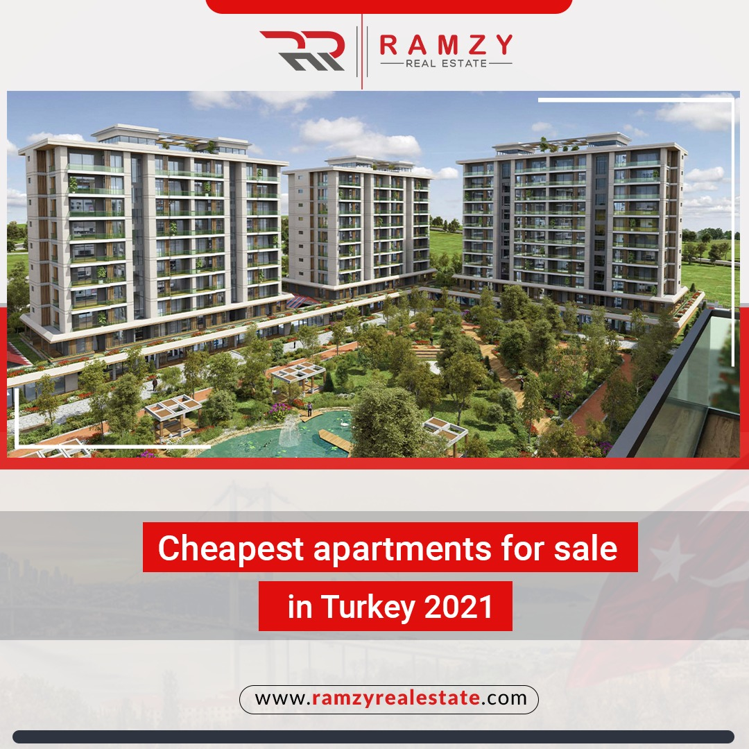 Cheapest apartments for sale in Turkey 2021