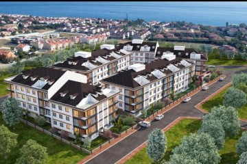 Apartments for sale in Beylikdüzü Istanbul directly on the sea