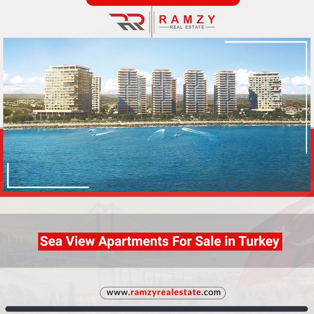 Apartments for sale in Turkey by the sea