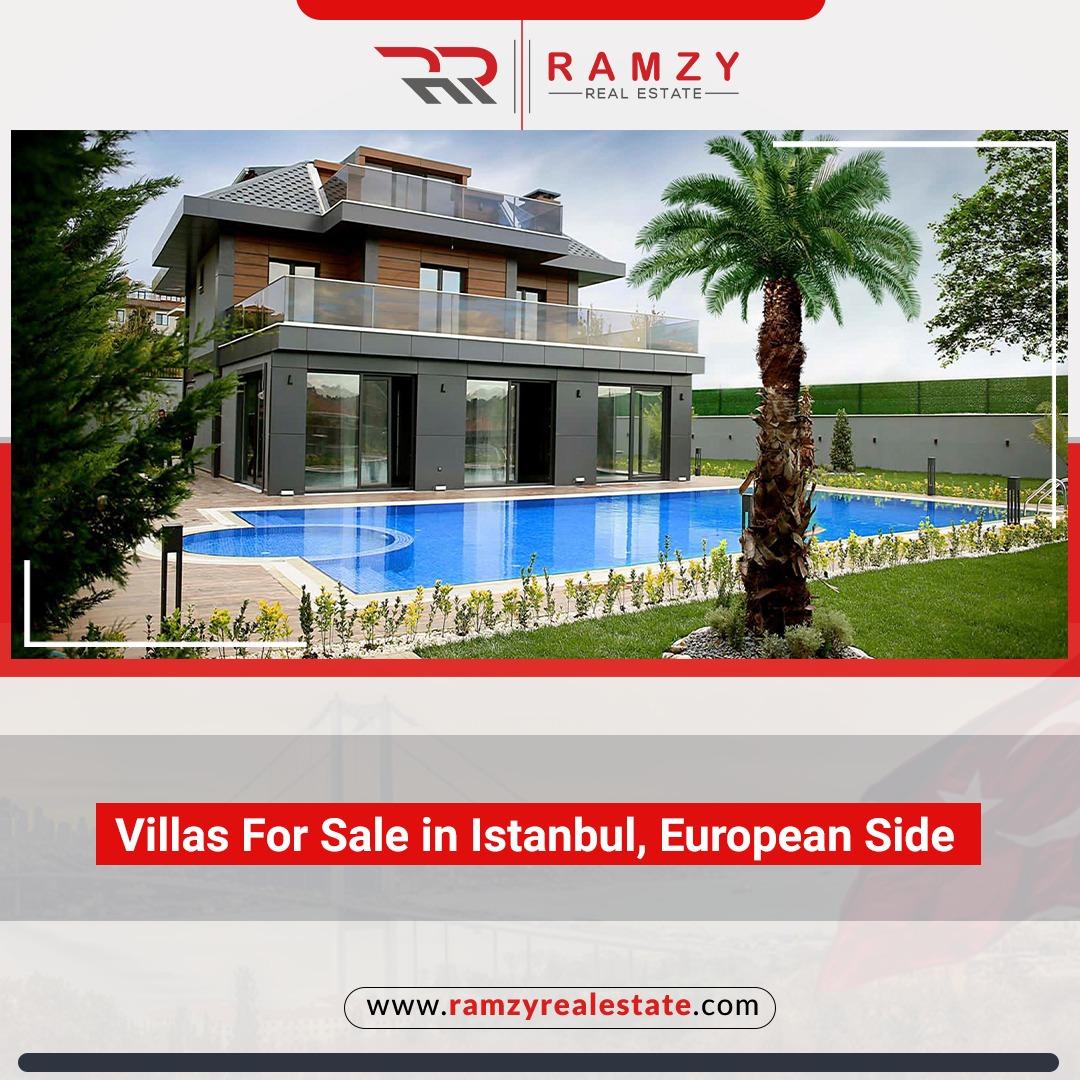 Villas for sale in Istanbul European side
