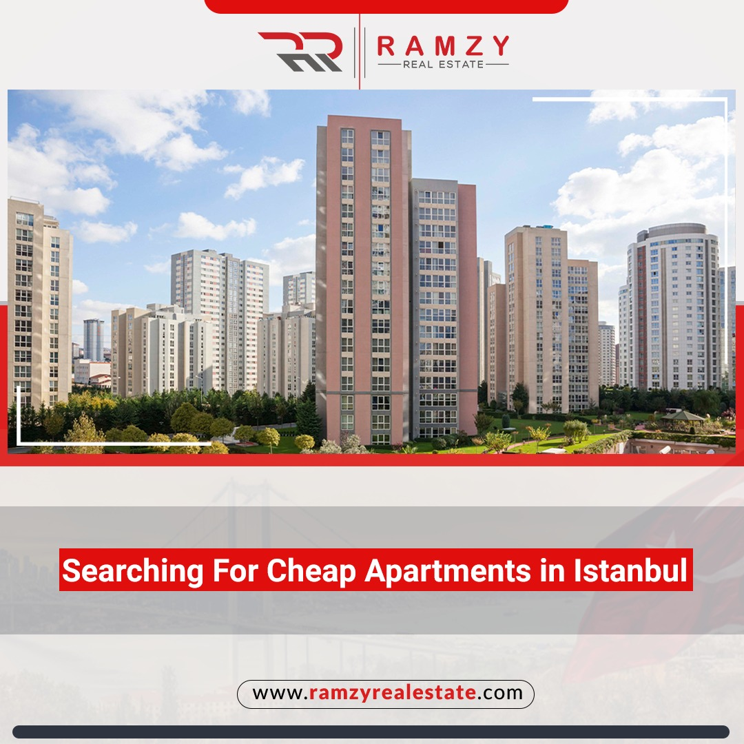 Searching for cheap apartments for sale in Istanbul