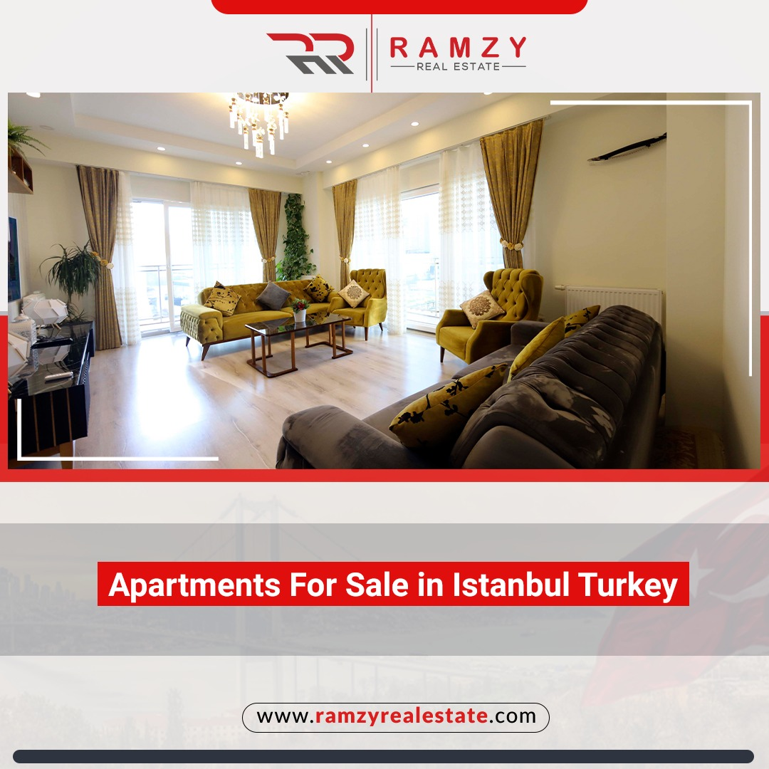 Apartments for sale in Istanbul Turkey