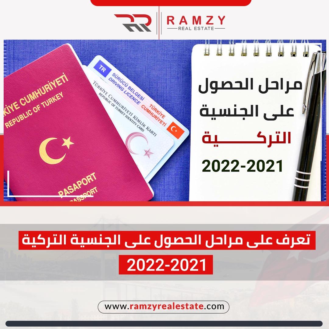 تعرف على مراحل الحصول على الجنسية التركية ٢٠٢١-٢٠٢٢