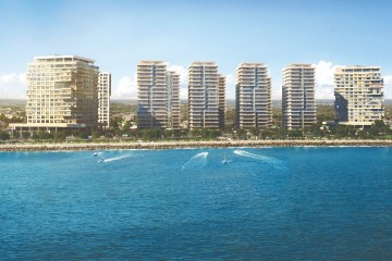 Apartments for sale in Istanbul Bakirkoy with direct sea view