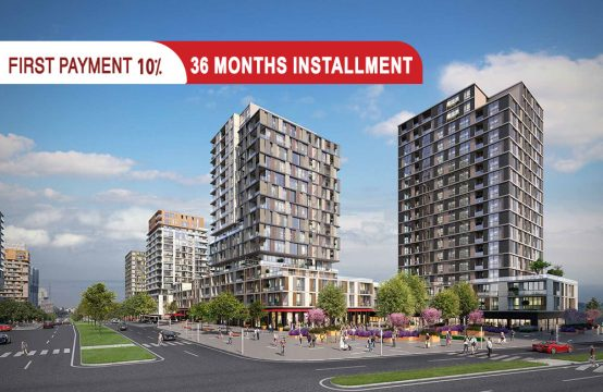 Residential apartments in Istanbul – Bahcesehir || PRO 048