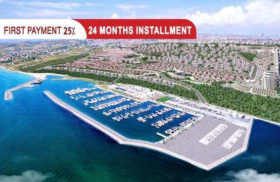 Apartments in Istanbul With sea view within an integrated coastal city || PRO 056