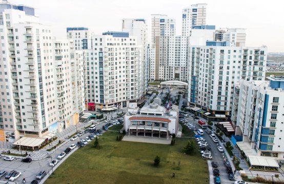 شقة للبيع في اسطنبول بهجة شهير ضمن مجمع أكوزا الشهير (REF-296)