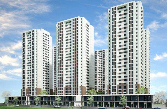 شقة للبيع في اسطنبول -غرفتين وصالة ضمن مجمع سكني (REF-288)