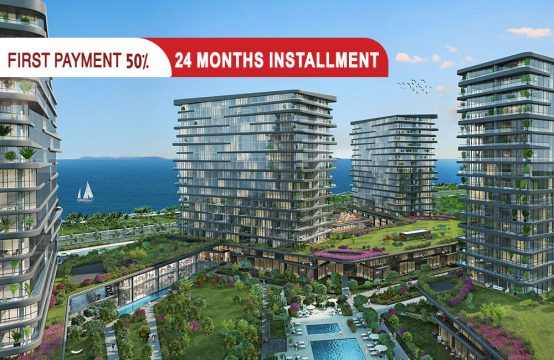 Sea view apartments for sale in Istanbul || PRO 098