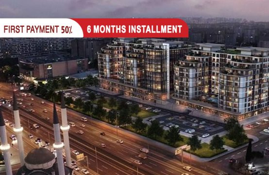 Apartments for sale in Istanbul Beylikdüzü, Directly on the E5 line || PRO 137