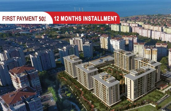 Luxury apartments for sale with Sea View in Istanbul || PRO 147