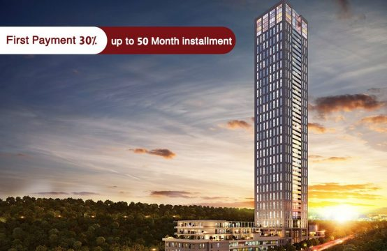 Luxury apartments for sale in Istanbul – Maslak – PRO 132
