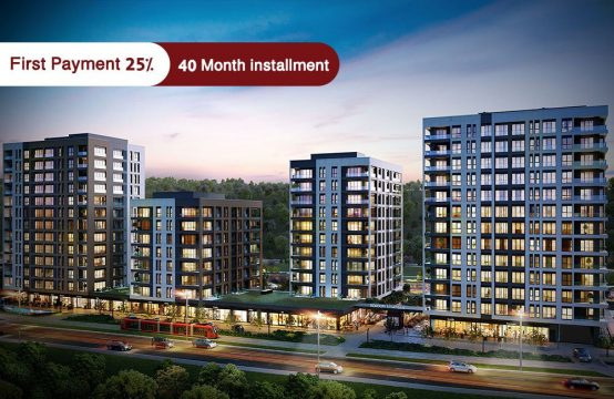 Apartments for sale in Istanbul – Kağıthane – PRO 131