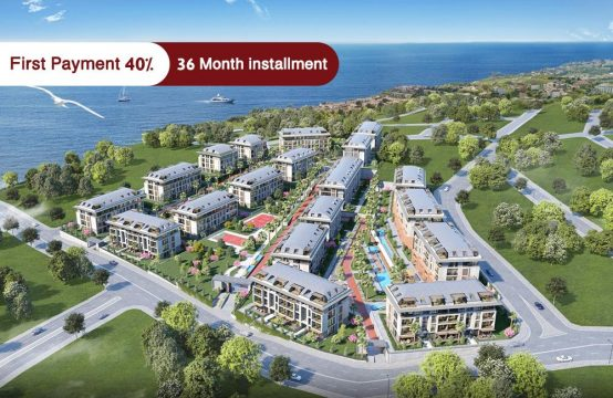 Apartments for sale in Istanbul – Beylikdüzü – with sea view – PRO 128