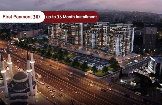 Apartments for sale in Istanbul – Beylikdüzü – Directly on the E5 line – PRO 137