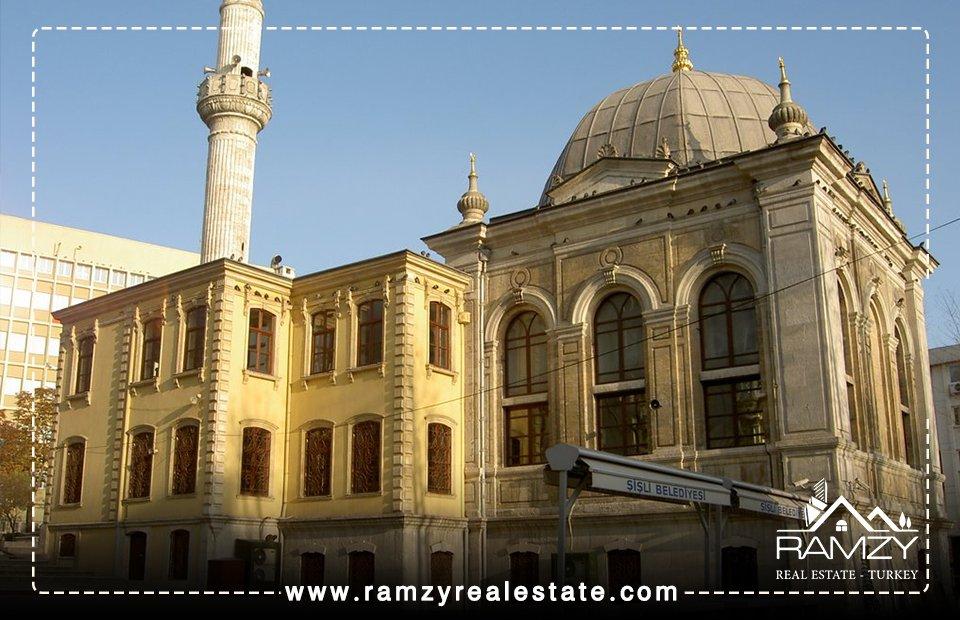 جامع تشويقية teşvikiye cami