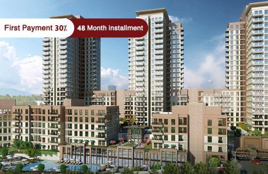 Apartments for sale in Istanbul – Bahçeşehir – PRO 150
