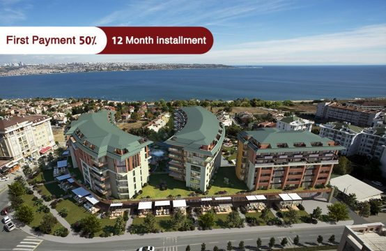 Apartments for sale with Sea View in Istanbul – BÜYÜKÇEKMECE – PRO 152