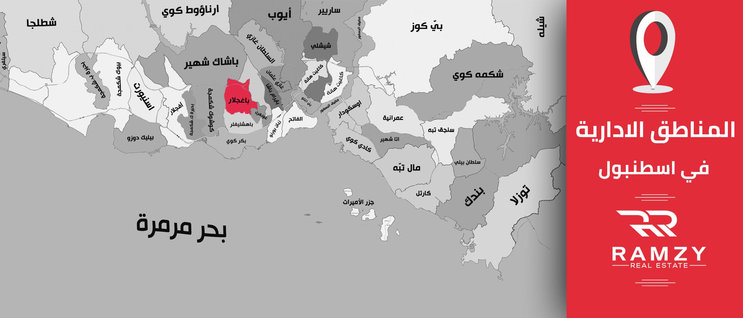 موقع منطقة باغجلار