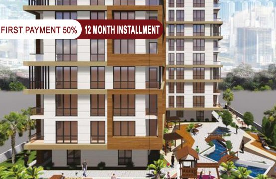 Apartments for sale in Istanbul within a family project at cheap prices and suitable for all    PRO 140