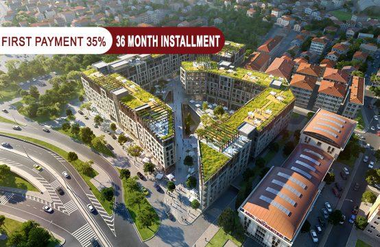 Investment apartments for sale in Istanbul – Küçükçekmece  || PRO 138