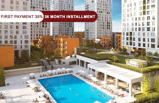 Apartments for sale in Istanbul near the Metro Bus line || PRO 117