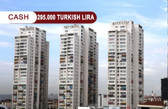 Apartment 2+1 for sale in Istanbul at a very special price 295,000 Turkish lira || REF 358