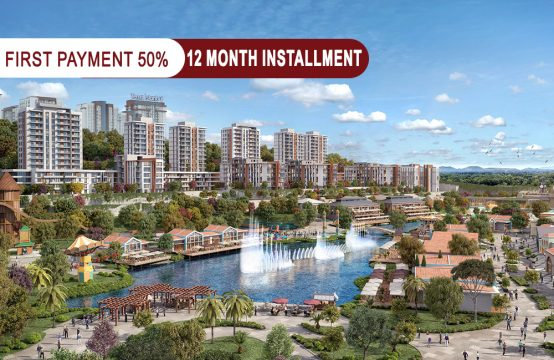 Apartments for sale in Istanbul within a special project for live and investment PRO   149