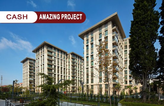 Apartments for sale in Istanbul with architectural designs and charming sea views PRO ||145