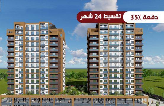 شقق رخيصة للبيع في إسطنبول &#8211&#x3B; اسنيورت ضمن مشروع سكني عائلي PRO 107