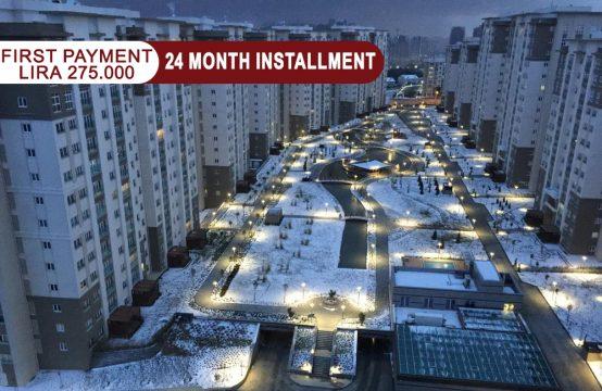 Apartment 3+1  for sale in Istanbul – Bahçeşehir || REF 343