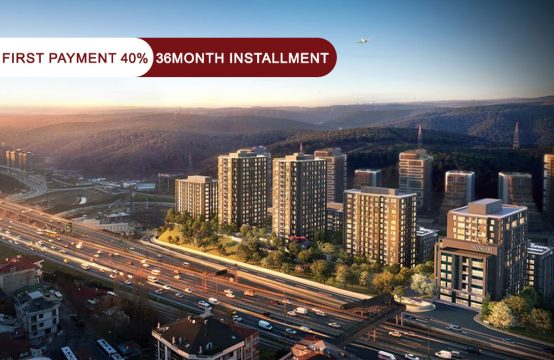 Apartments for sale in Istanbul – Maslak within the highest residential complexes || PRO 159