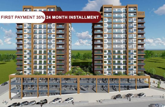 Cheap apartments for sale in Istanbul – Esenyurt within the family project || PRO 107