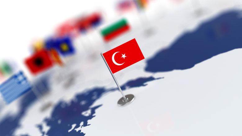 التقاء تركيا بقارات العالم