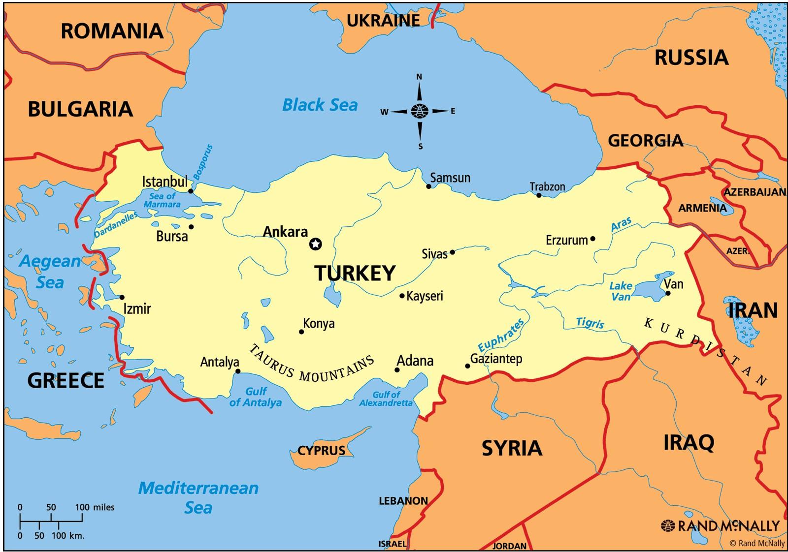 موقع تركيا :