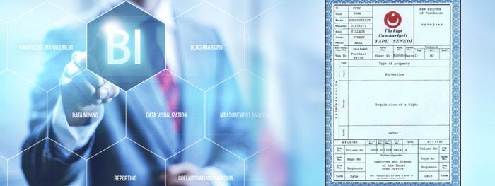 """العمل على إتمام معاملات الطابو من خلال نظام """" ذكاء الأعمال """""""