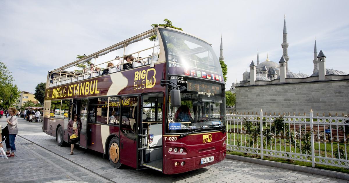 الباص D76 ( الحافلة ثنائية الطوابق )
