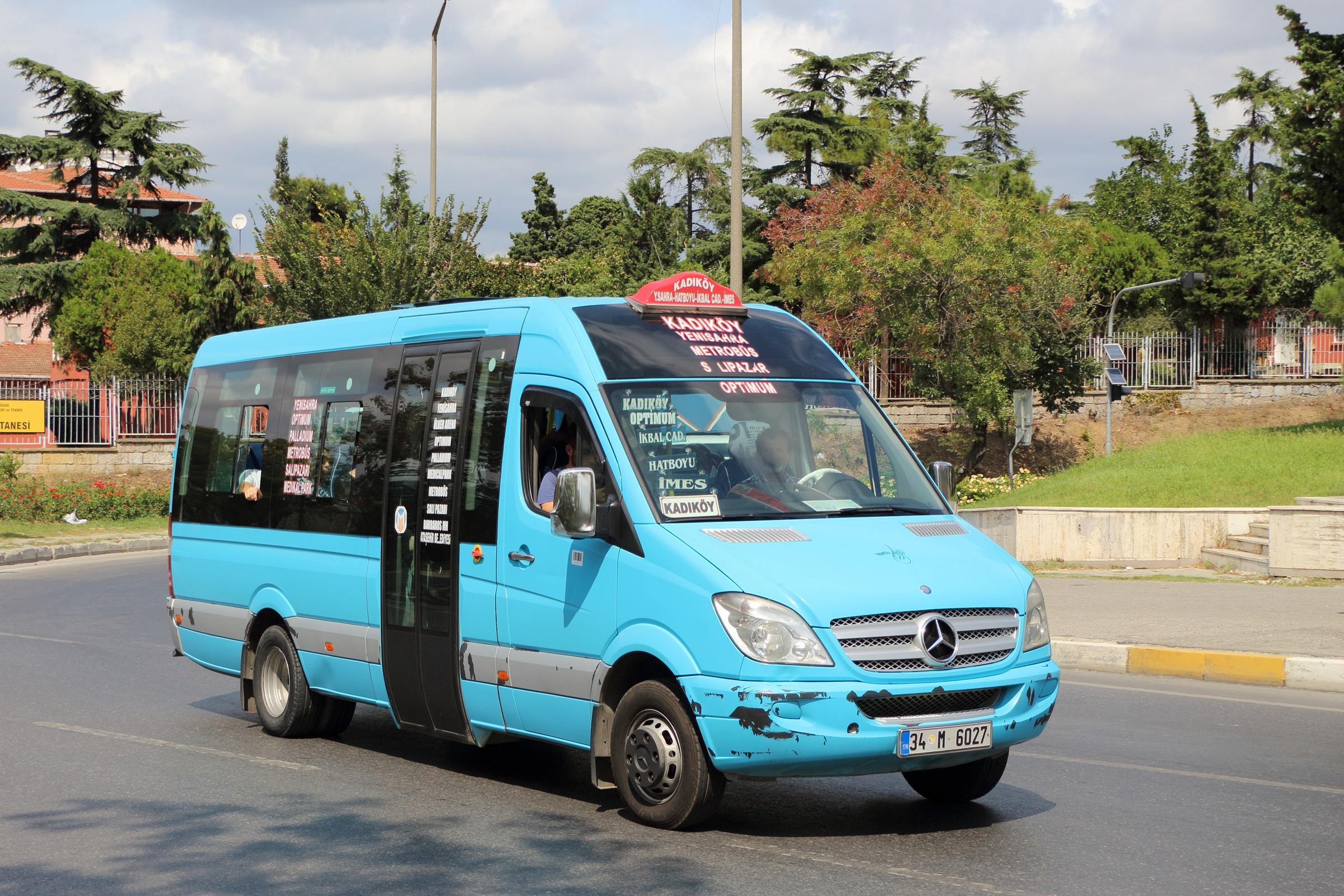 الـ minibus ( الدلامش ) في اسطنبول
