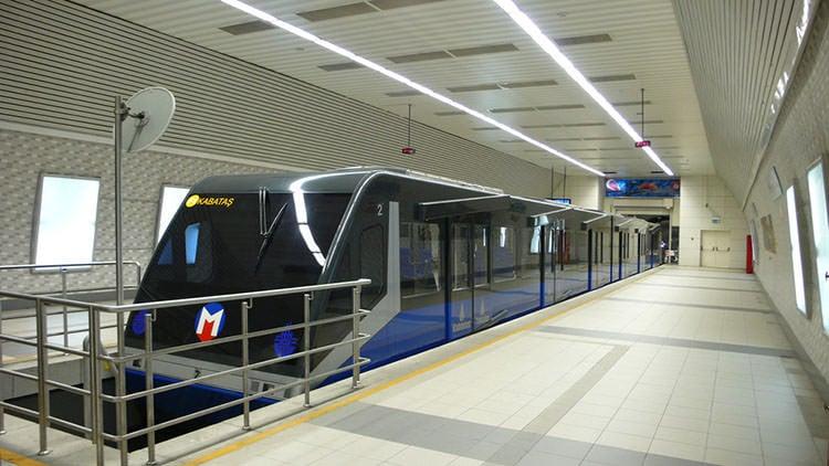 مترو الأنفاق في إسطنبول