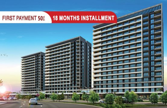 Luxury apartments for sale in Istanbul within a prestigious residential project || PRO 165