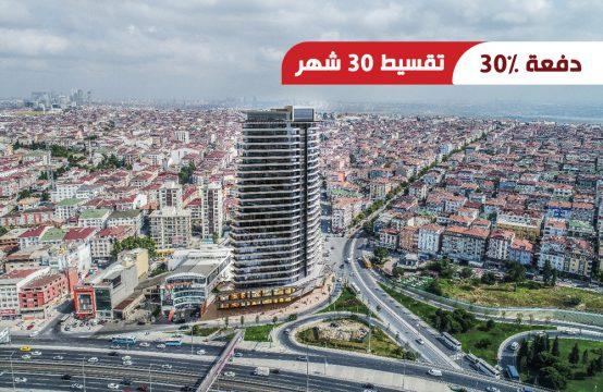 شقق للبيع في أفجلار – إسطنبول بإطلالات بحرية مميزة || PRO 170