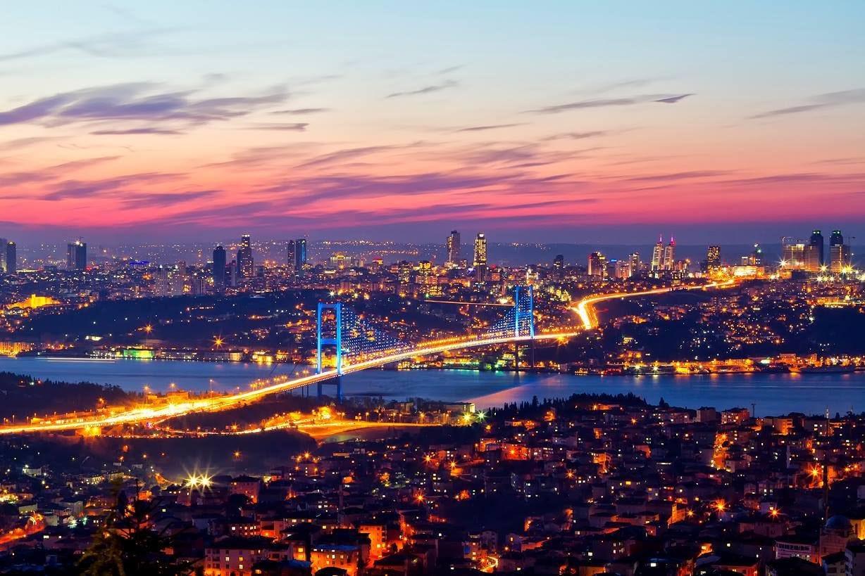 جسر البوسفور في إسطنبول