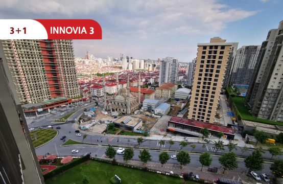 Furnished apartment for sale in Istanbul within complex innovia 3 || REF 381