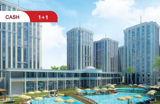 apartment for sale in Istanbul within a residential complex || REF 708