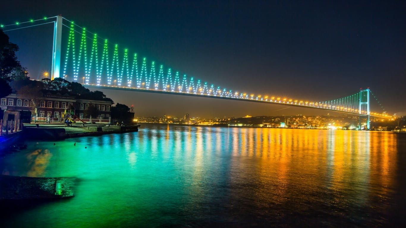 جسور إسطنبول المعلّقة