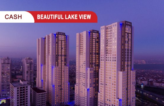 Apartment for sale in Istanbul overlooking the lake || REF 386
