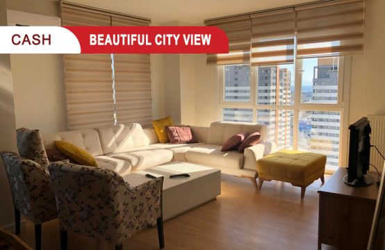 Apartment for sale in Istanbul with city view || REF 385