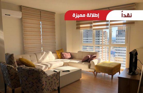 شقة 3+1 للبيع في اسطنبول بإطلالة مميزة على المدينة ||  REF 385